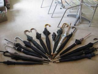 【忘れ物】傘がいっぱい